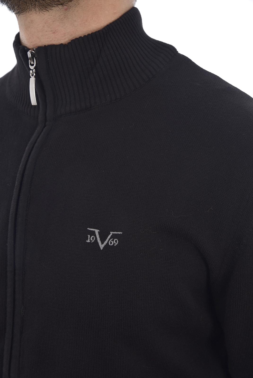 Gilets  19V69 by Versace 1969 VERNANTE BLACK