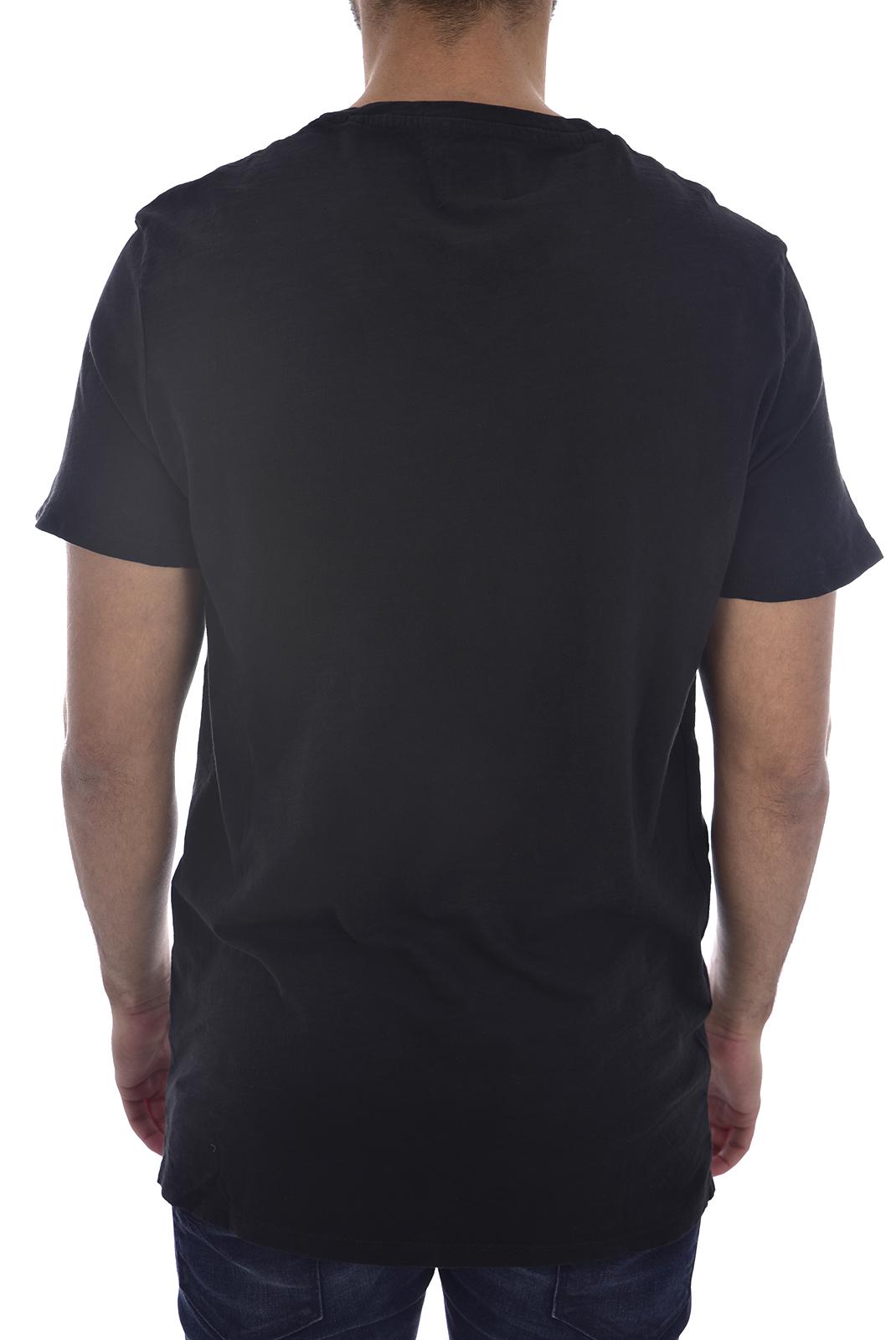 T-S manches courtes  Guess jeans M83I38 K6XN0 F9PI BLACK GARMENT