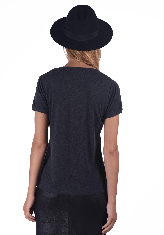 Tee shirt  Kaporal GAROU ANTHRACITE