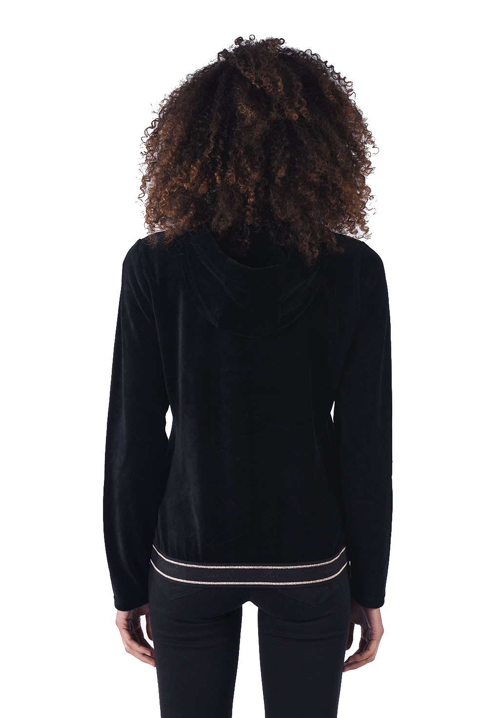 Sweat / sweat zippé  Kaporal GLAY BLACK