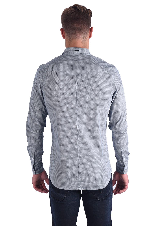Chemises manches longues  Kaporal LEHA BLUE US