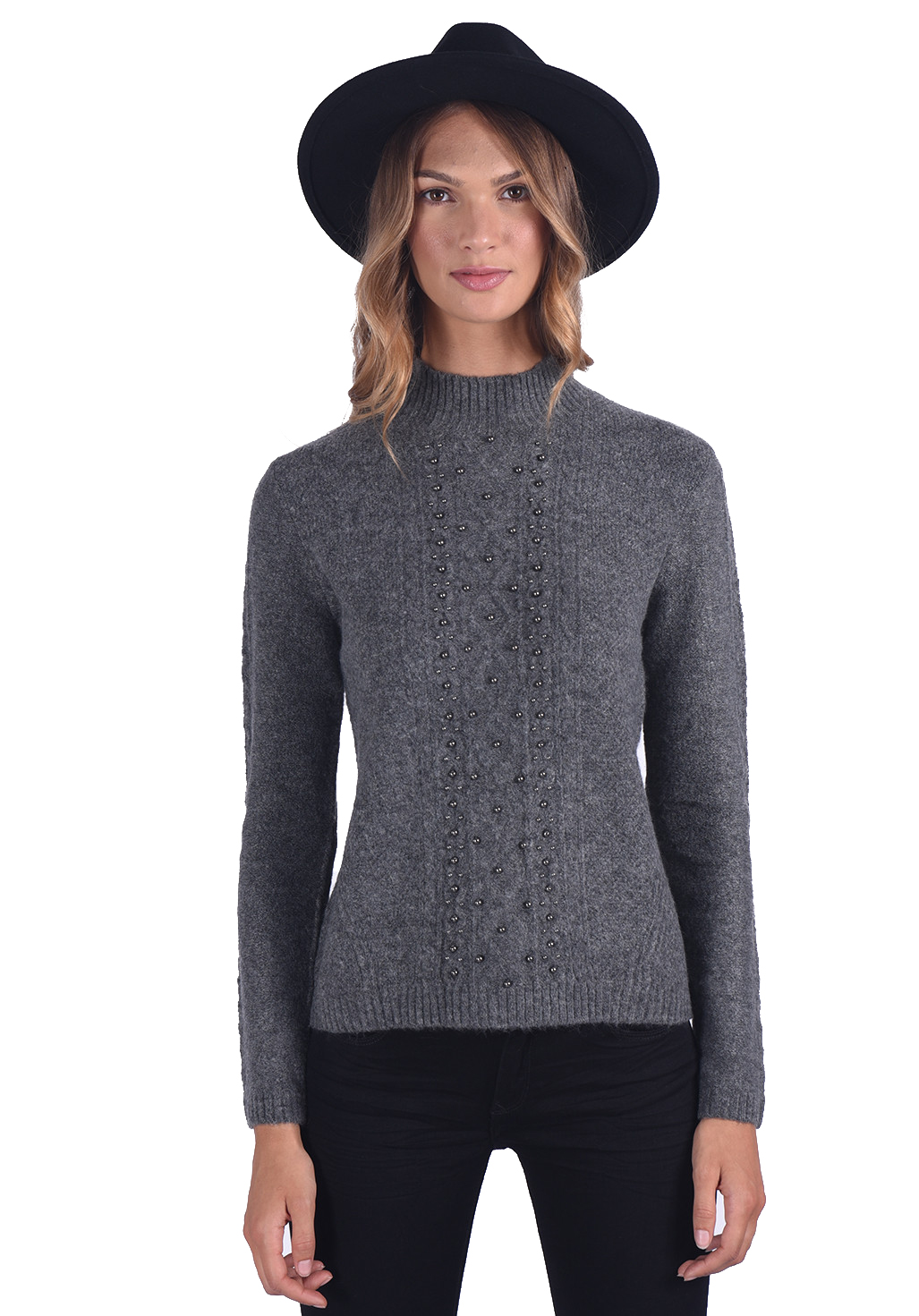 Pull  Kaporal TELIA DARK GREY MELANGED