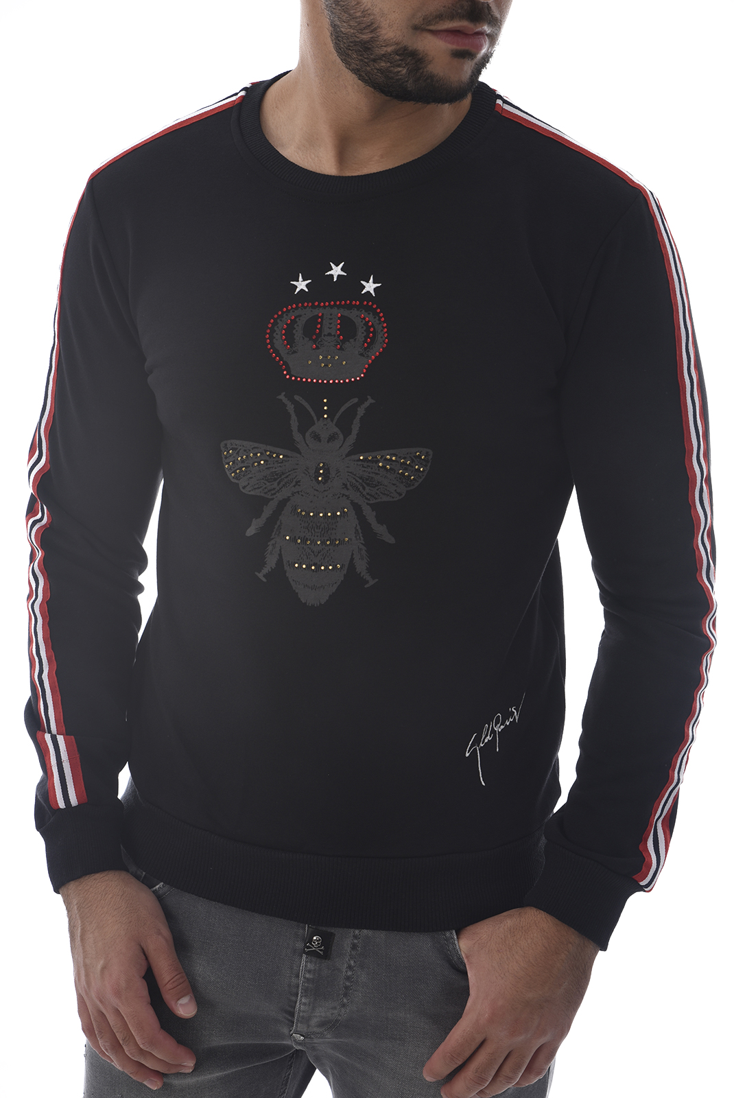 Sweatshirts  Goldenim paris 1006 NOIR