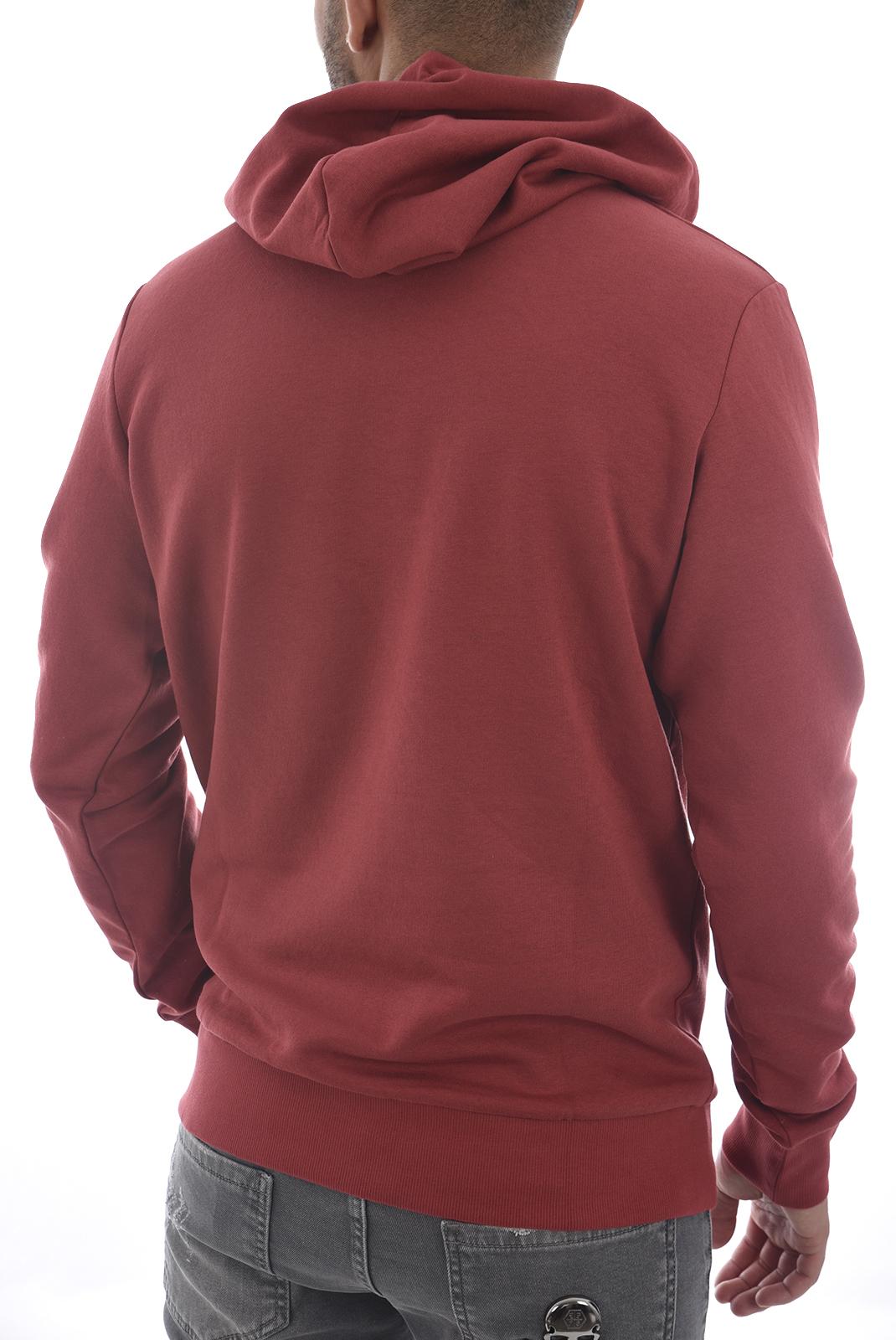 Sweatshirts  Jack & Jones LOGO SWEAT HOOD Brick Red
