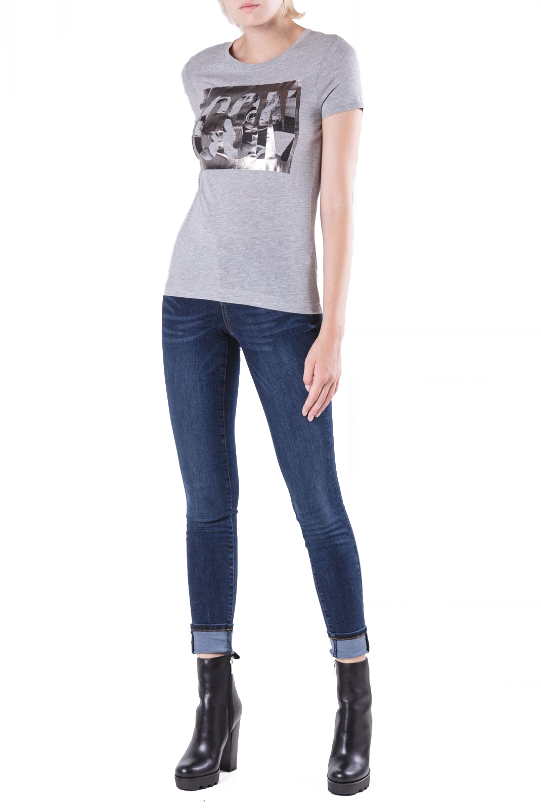 Jeans   Guess jeans W84A27 D3BN1 jegging TWEEDY BLUE