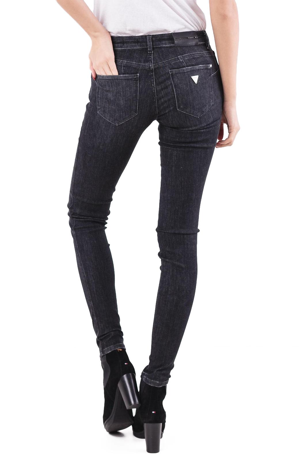 Jeans   Guess jeans W84AJ2 D3BV0 ULTIMATE BLACK