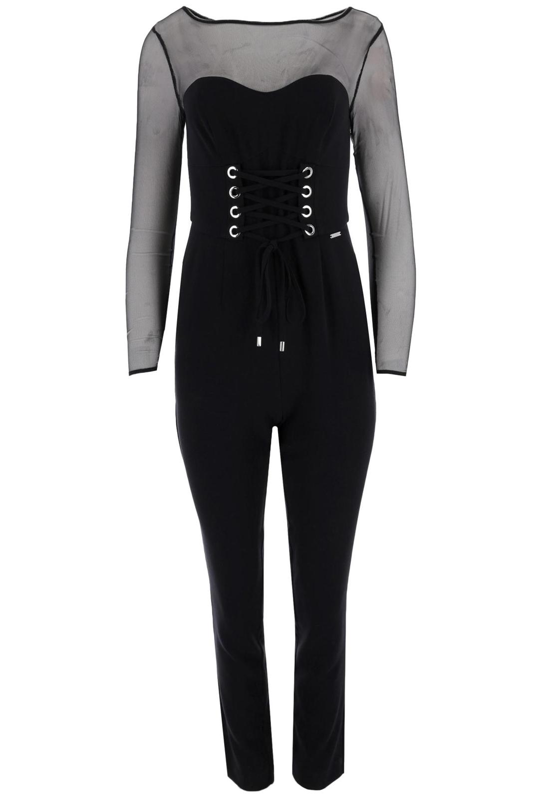 Combinaisons & Salopettes  Guess jeans W84D40 WAOH0 Jet Black A996