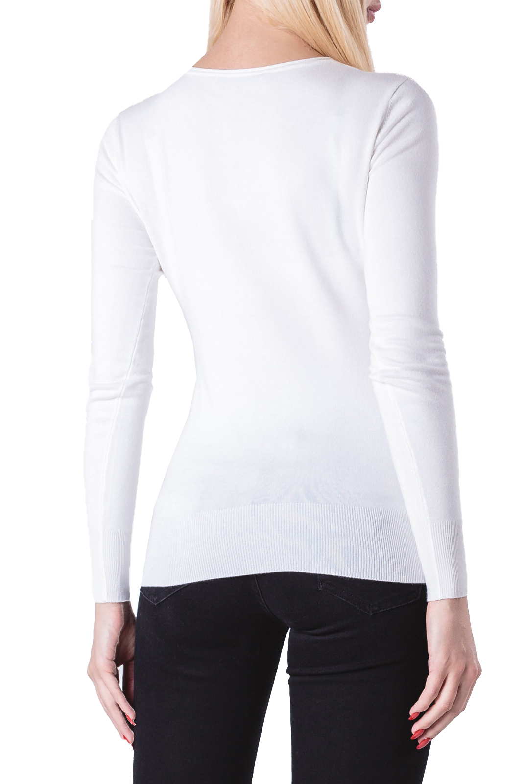 Pull  Guess jeans W84R66Z2760 TRUE WHITE A000