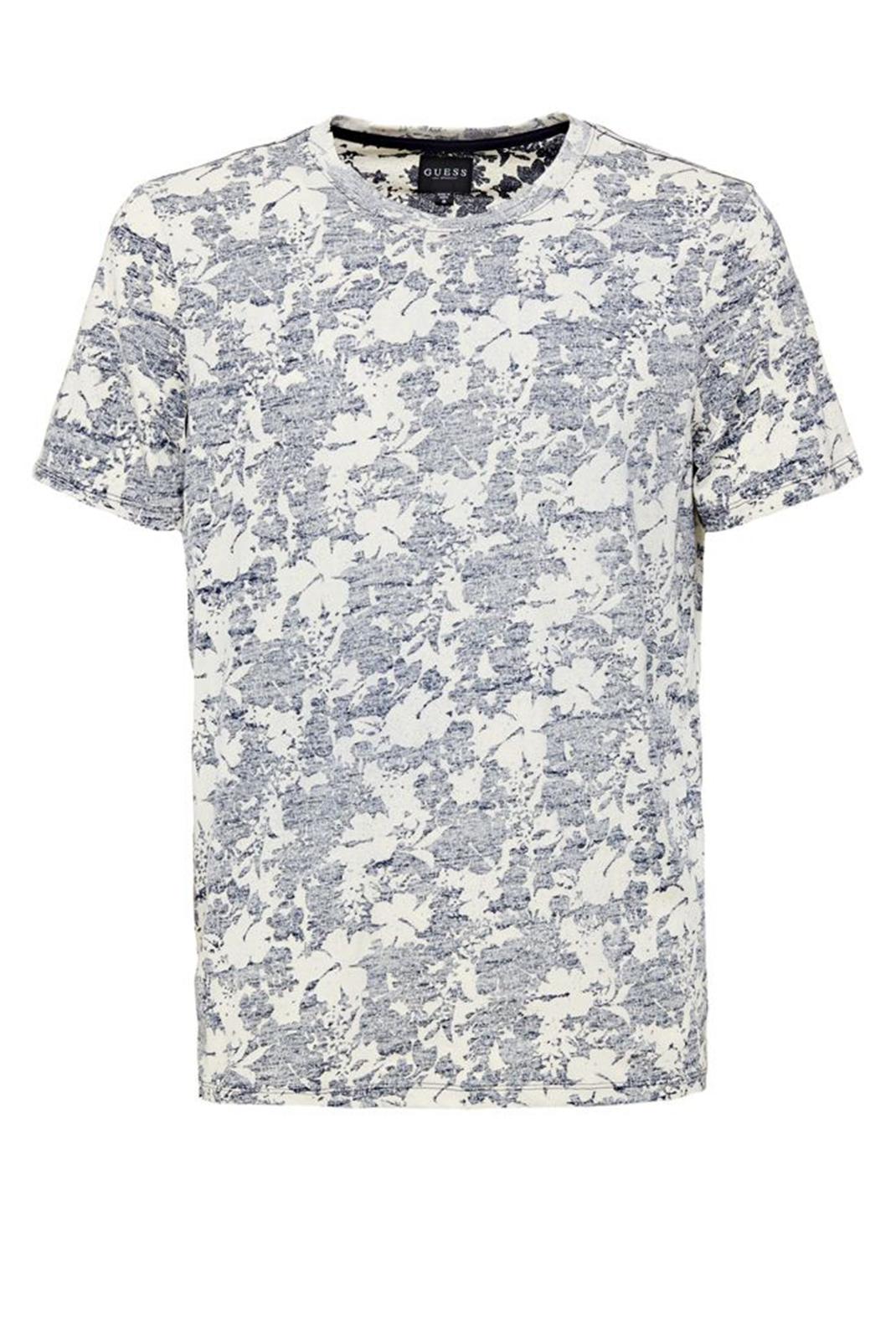 Tee-shirts  Guess jeans M72P75RI5K0 P7H4 BLUE