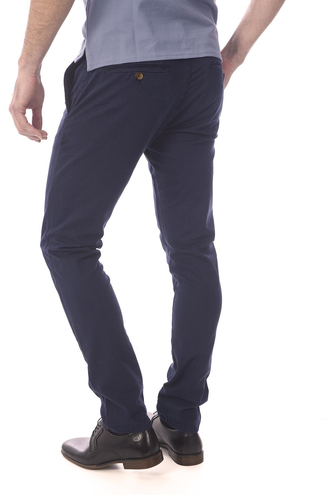 Pantalons chino/citadin  Guess jeans M84B29 WAM20 DANIEL G720 BLUE NAVY