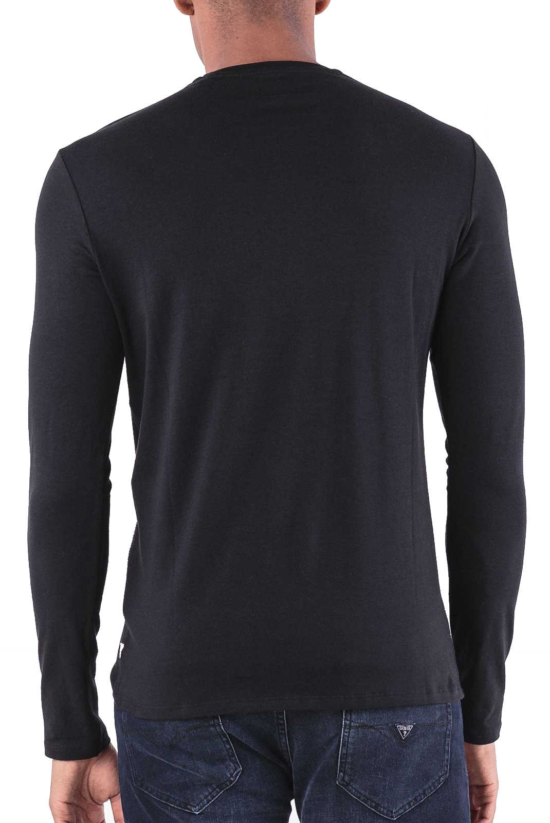 Tee-shirts  Guess jeans M84I17 J1300 Jet Black A996