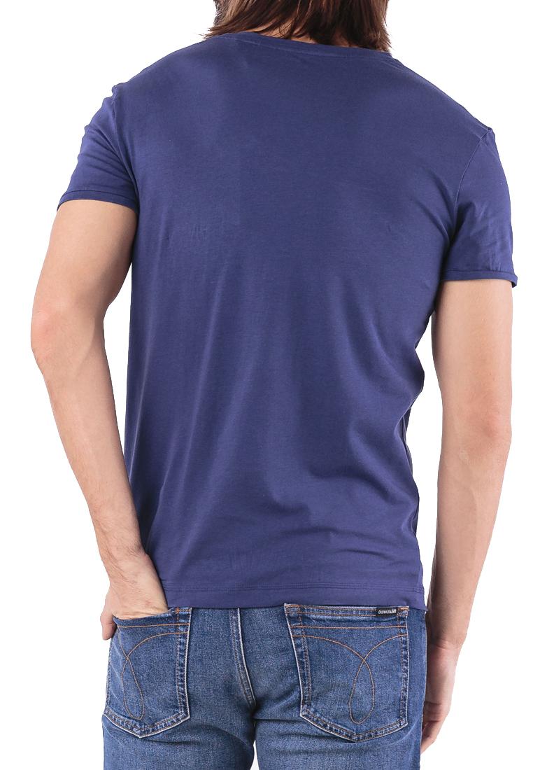 Tee-shirts  Guess jeans U84M01 JR00A A752 EVENING BLUE