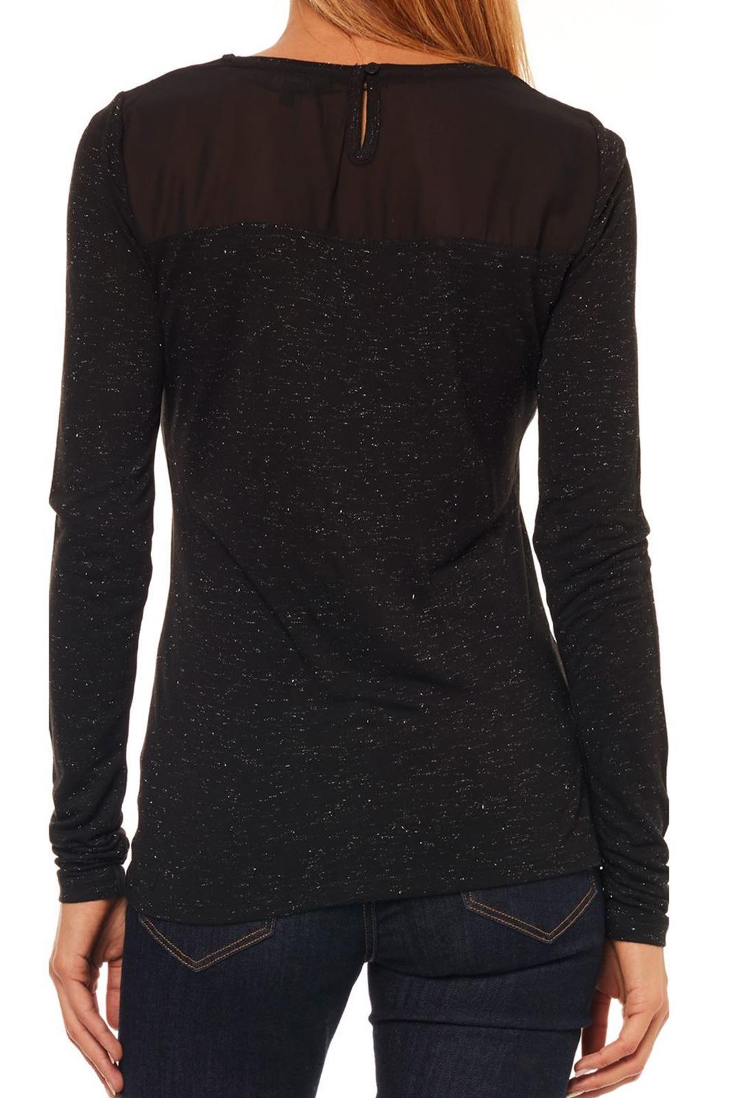 Tee shirt manches longues  Kaporal CHAI BLACK