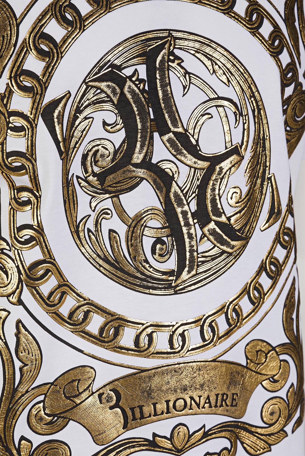 T-S manches courtes  Billionaire MTK1707 BILLIONAIRE 01 WHITE