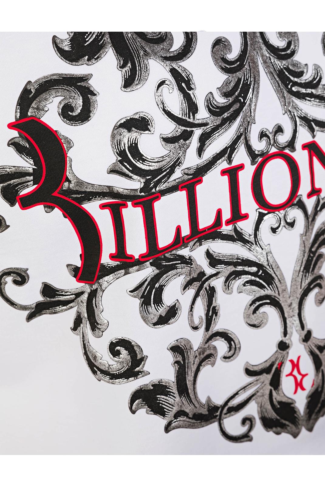 T-S manches courtes  Billionaire MTK1709 COMO LAKE 01 WHITE