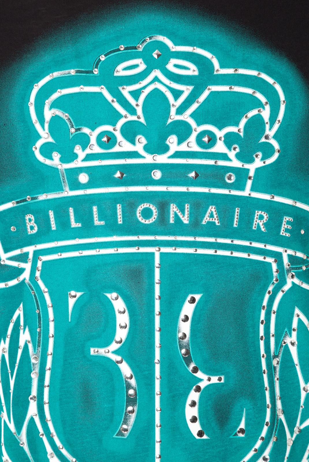 T-S manches courtes  Billionaire MTK0430 X999 BLACK