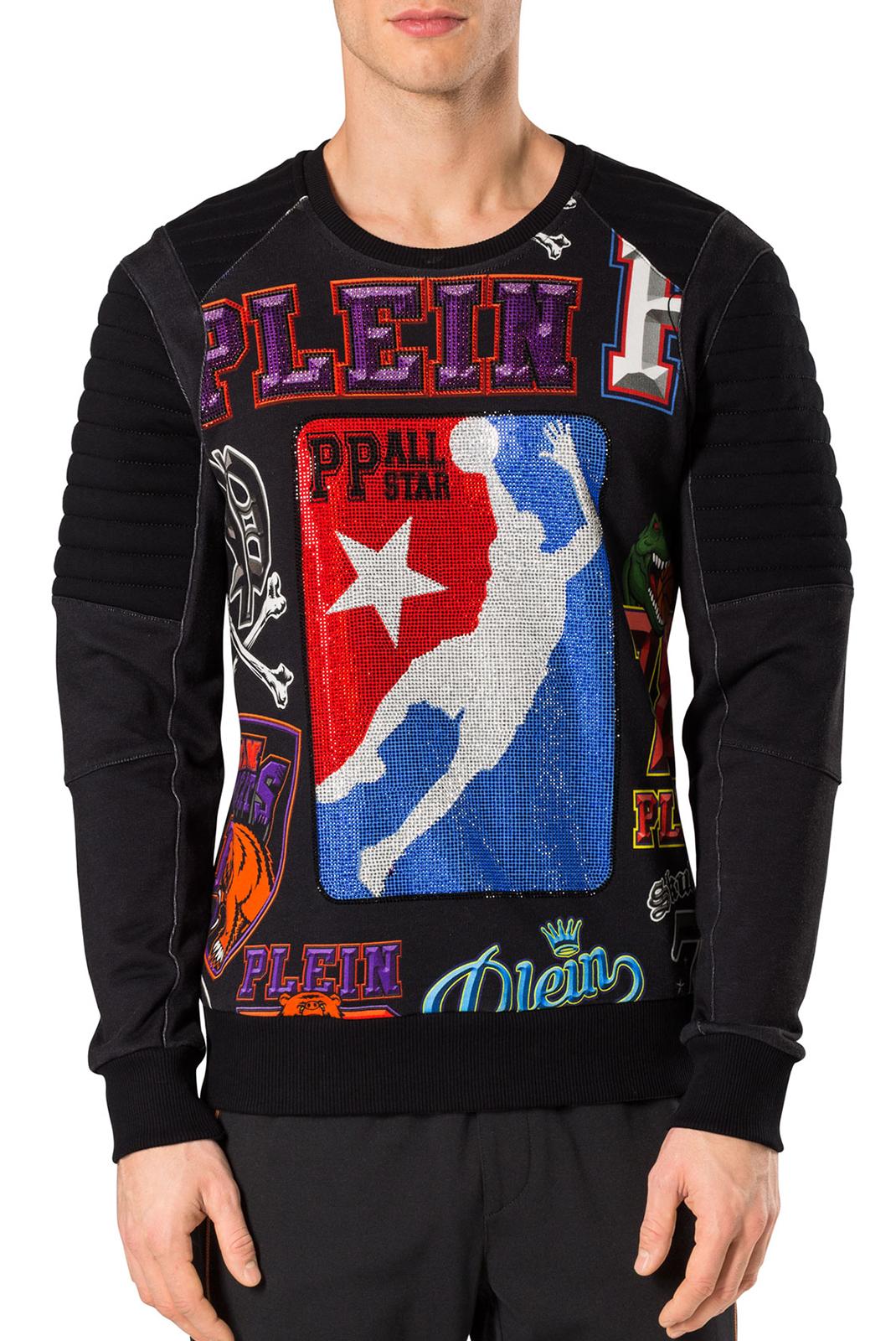 Sweatshirts  Philipp plein MJO0037 LINE 02 BLACK