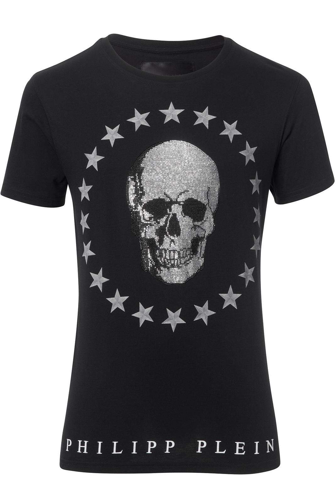 Tee-shirts  Philipp plein HM341068 COLEMAN 02 BLACK