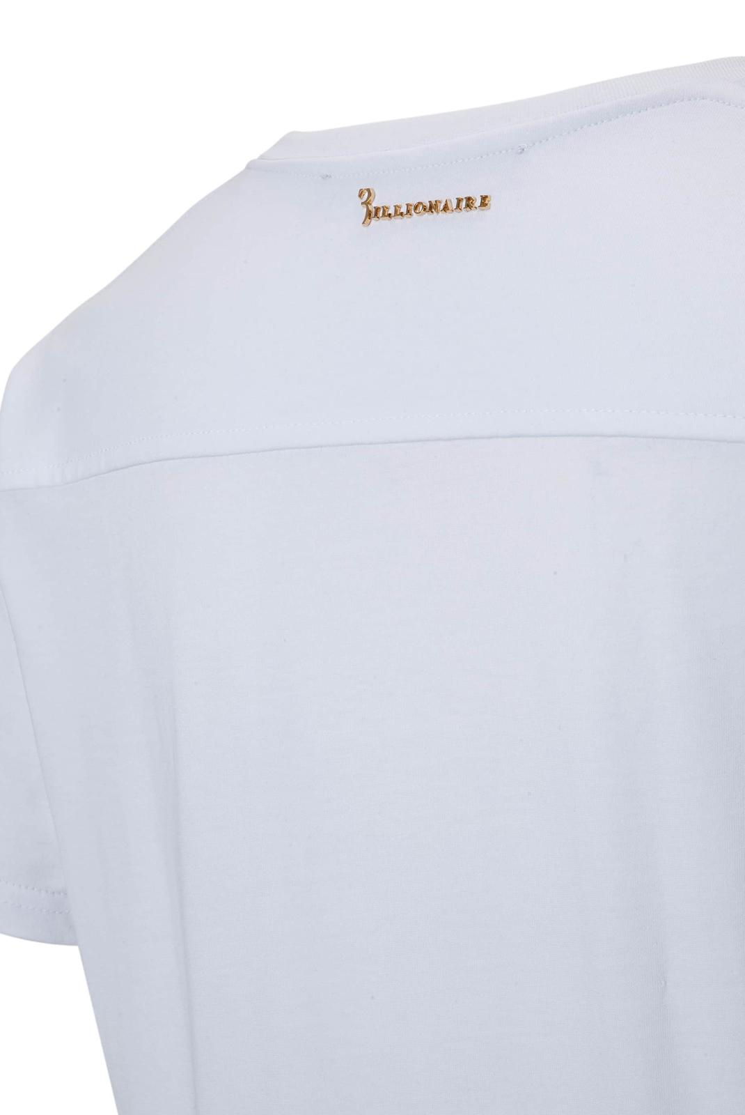 T-S manches courtes  Billionaire MTK1467 FULL 01 WHITE