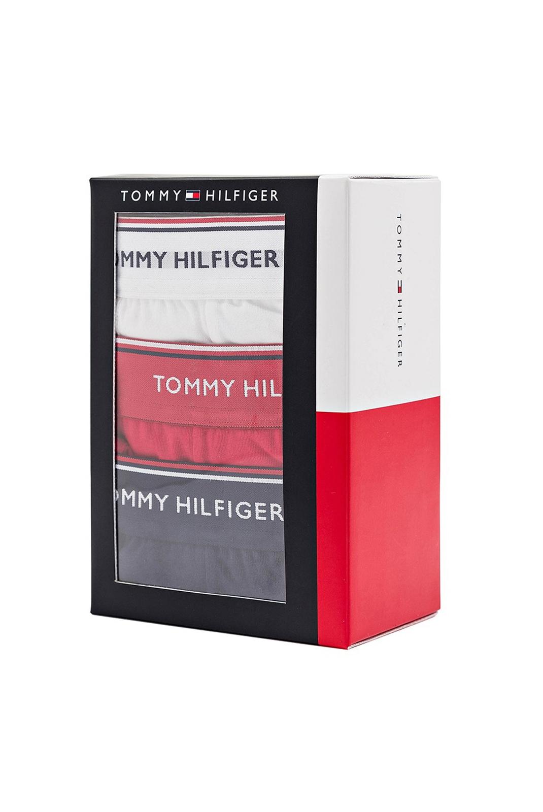Slips-Caleçons  Tommy hilfiger 1U87903842 611 BLANC/ROUGE/BLEU