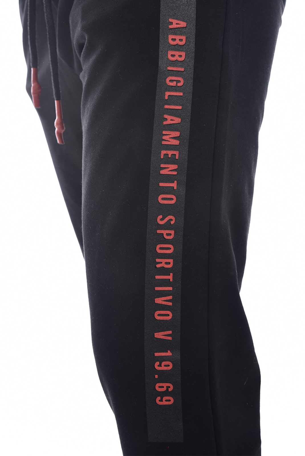 Pantalons sport/streetwear  V1969 by Versace 1969 orosei jog NOIR