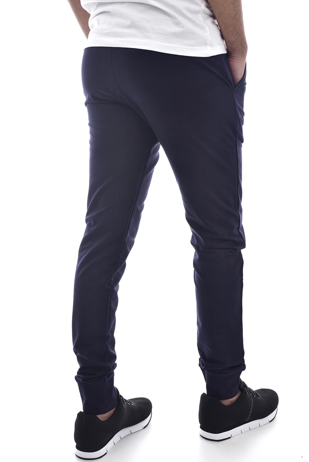 Pantalons sport/streetwear  V1969 by Versace 1969 orosei jog MARINE