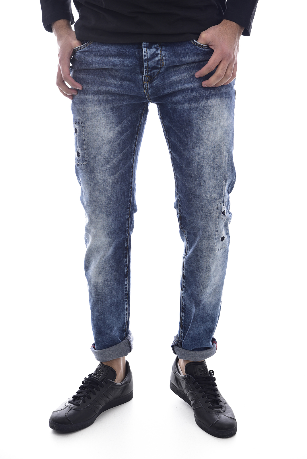 Jeans  Leo gutti L021 BLEU