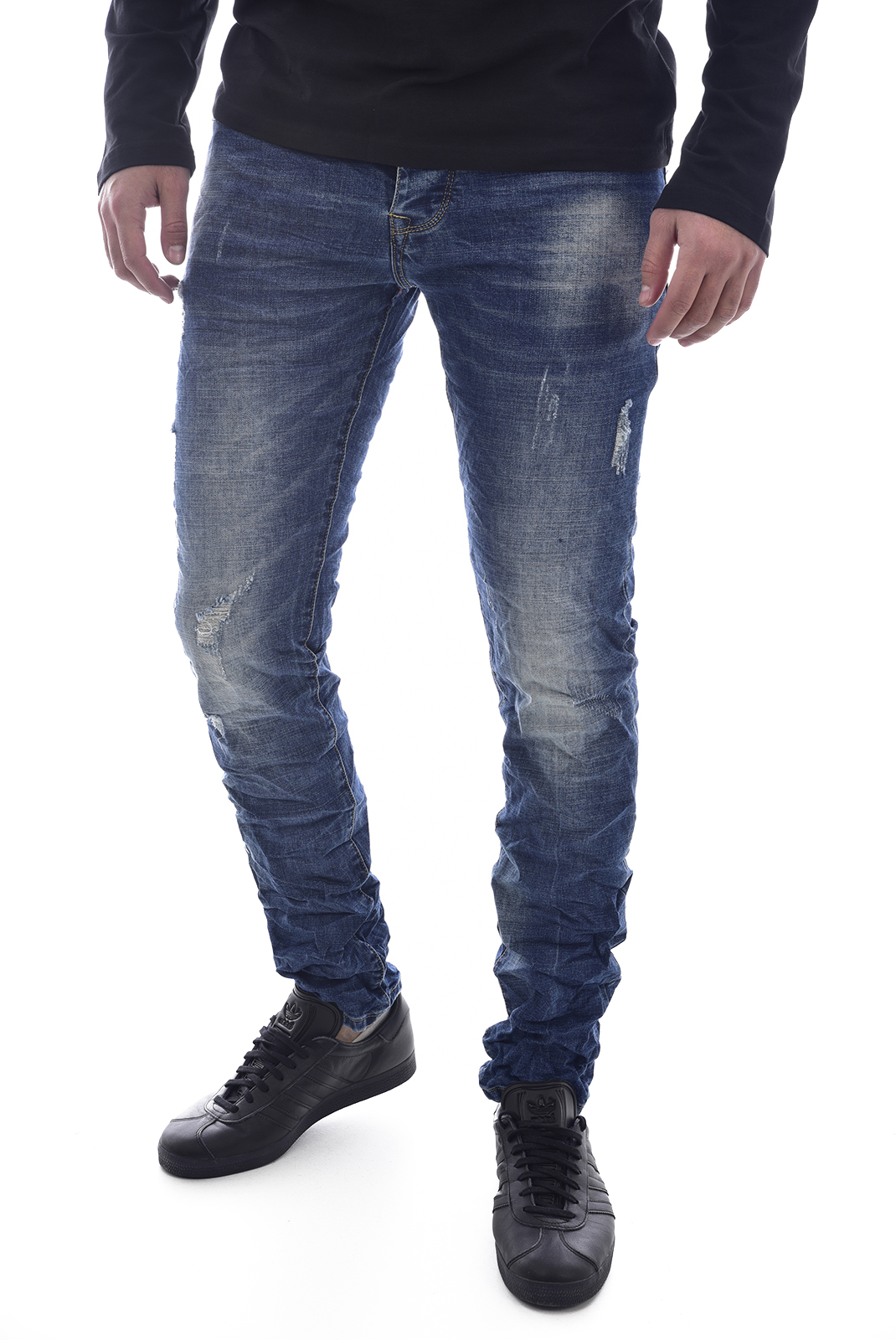 Jeans  Leo gutti 6005 BLEU