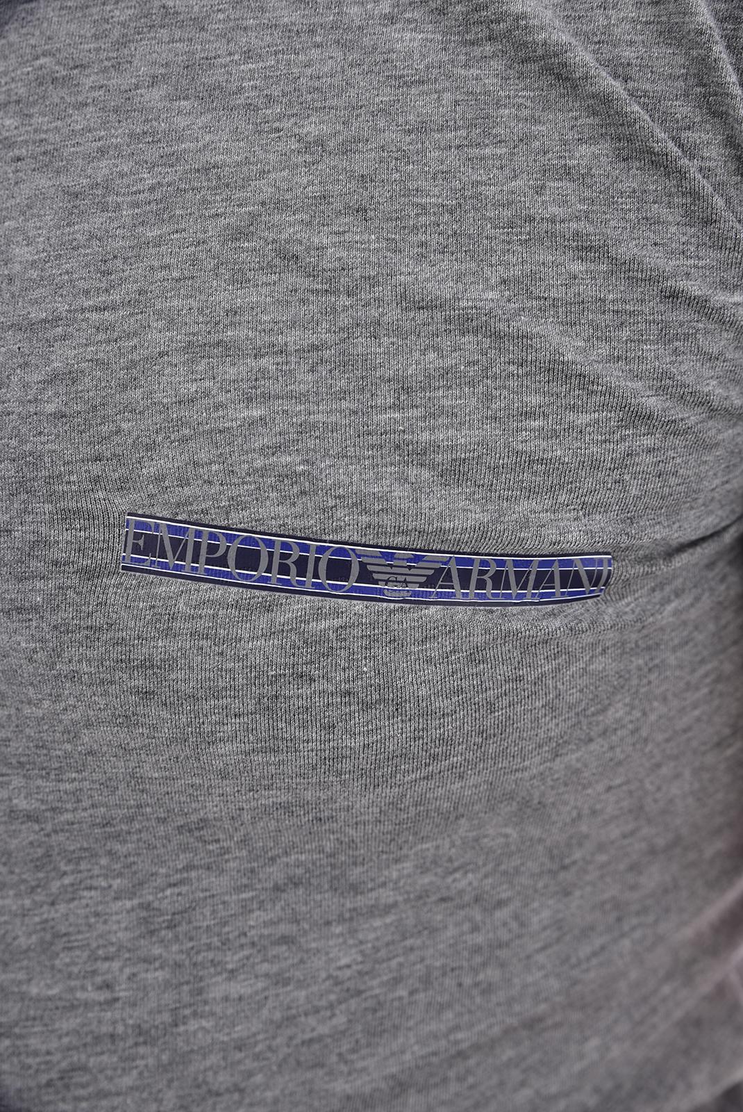 T-S manches courtes  Emporio armani 111035 8A525 06749 GRIGIO MELANGE SCURO