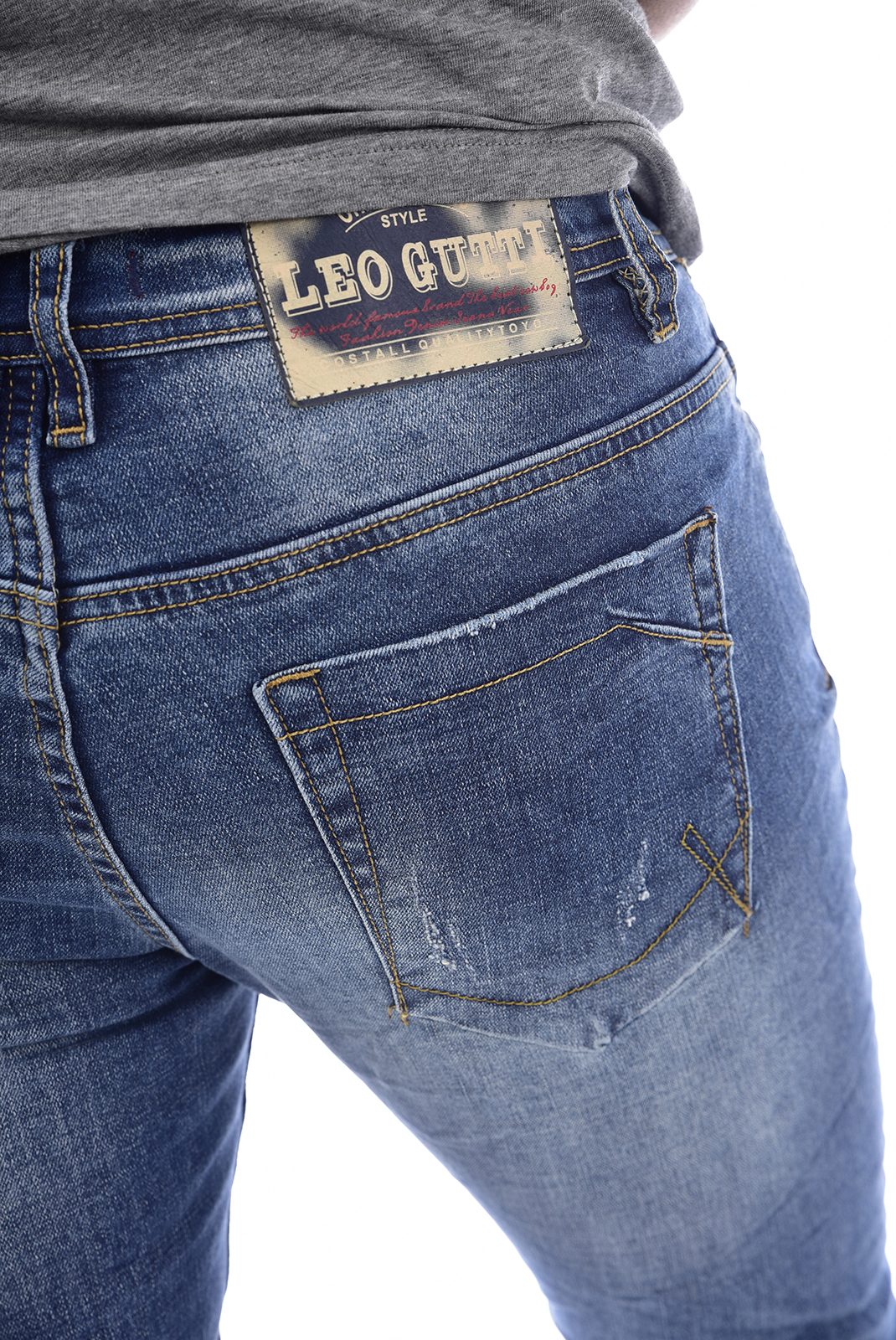 Jeans  Leo gutti 6002 BLEU