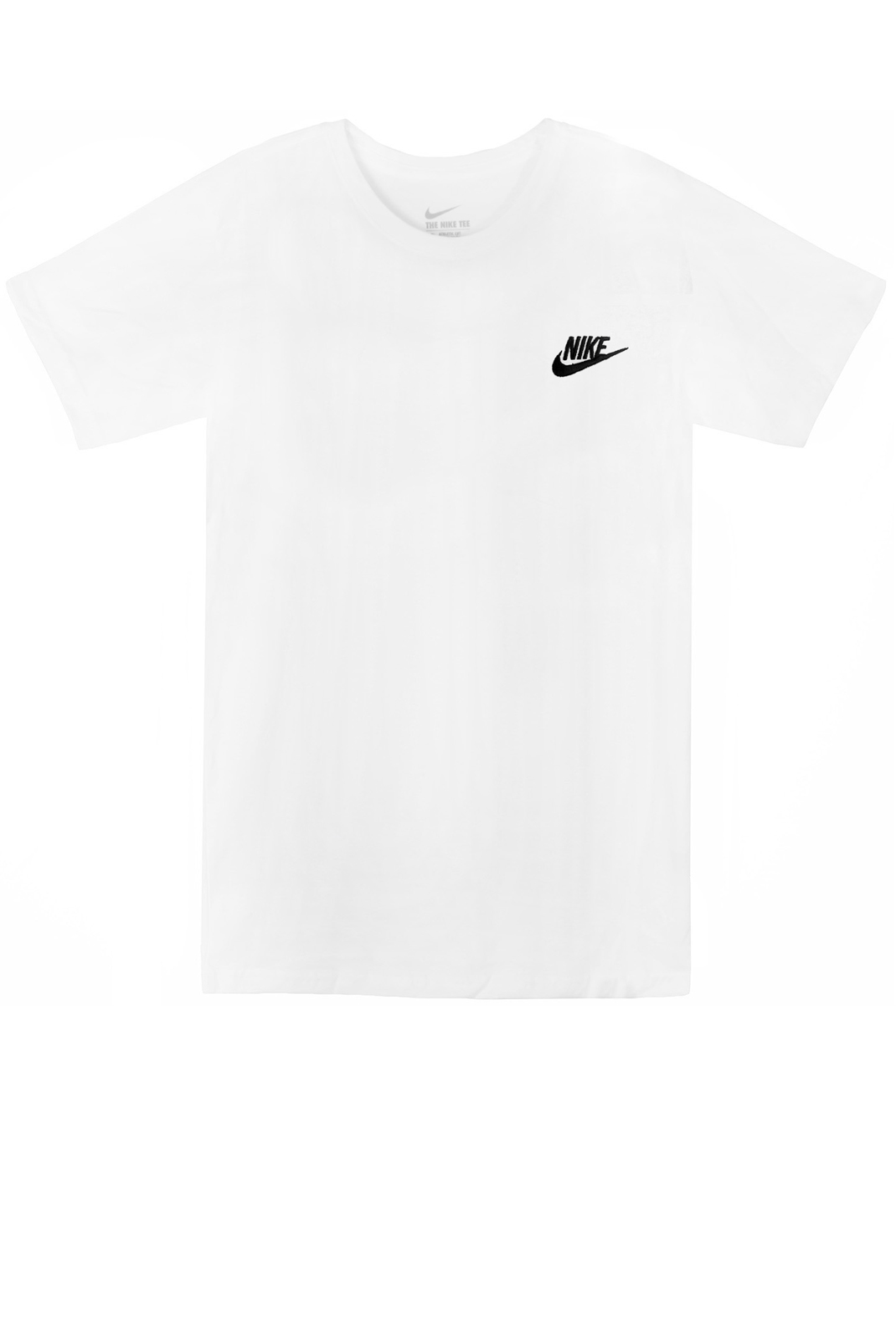 Tee-shirts  Nike 827021 TEE CLUB 0100 WHITE