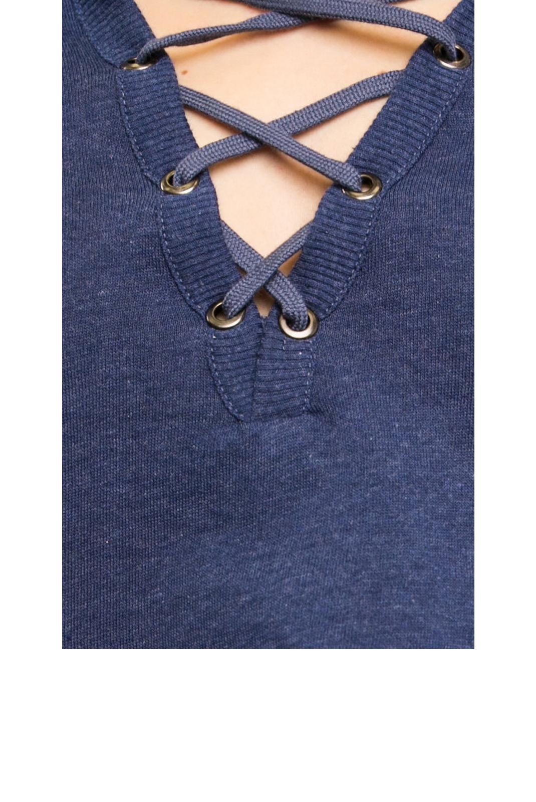Tee shirt manches longues  Guess jeans O72Q05FL008 C765 BLUE