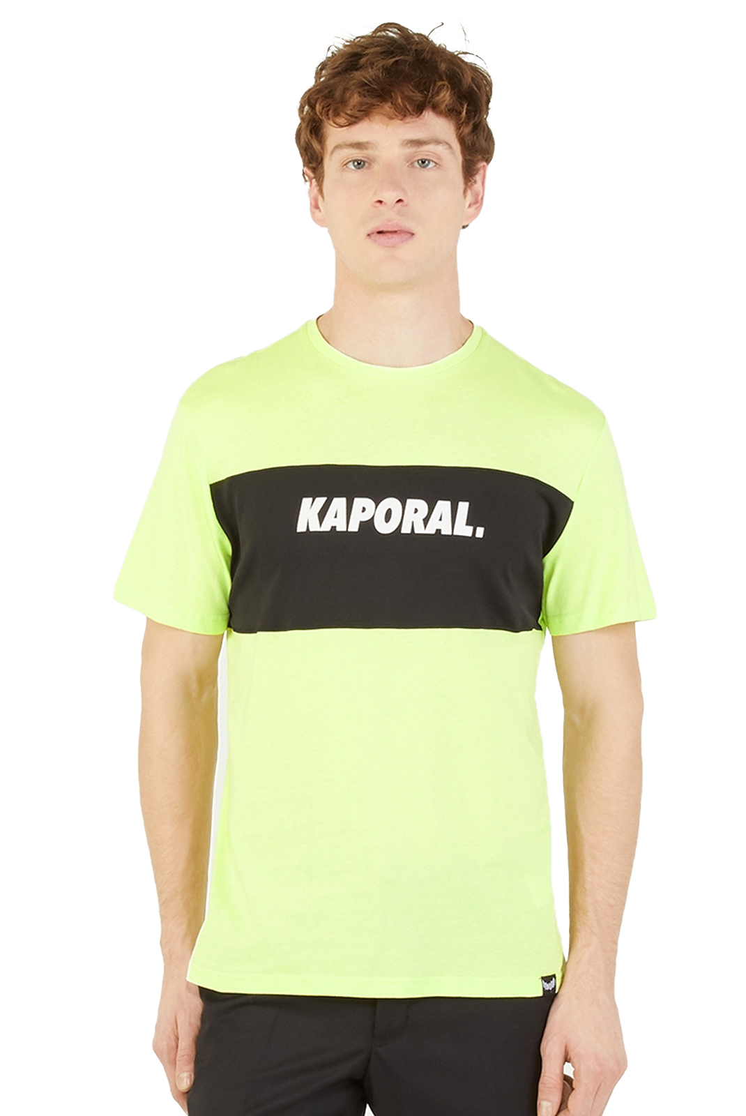 T-S manches courtes  Kaporal SYRUS NEON