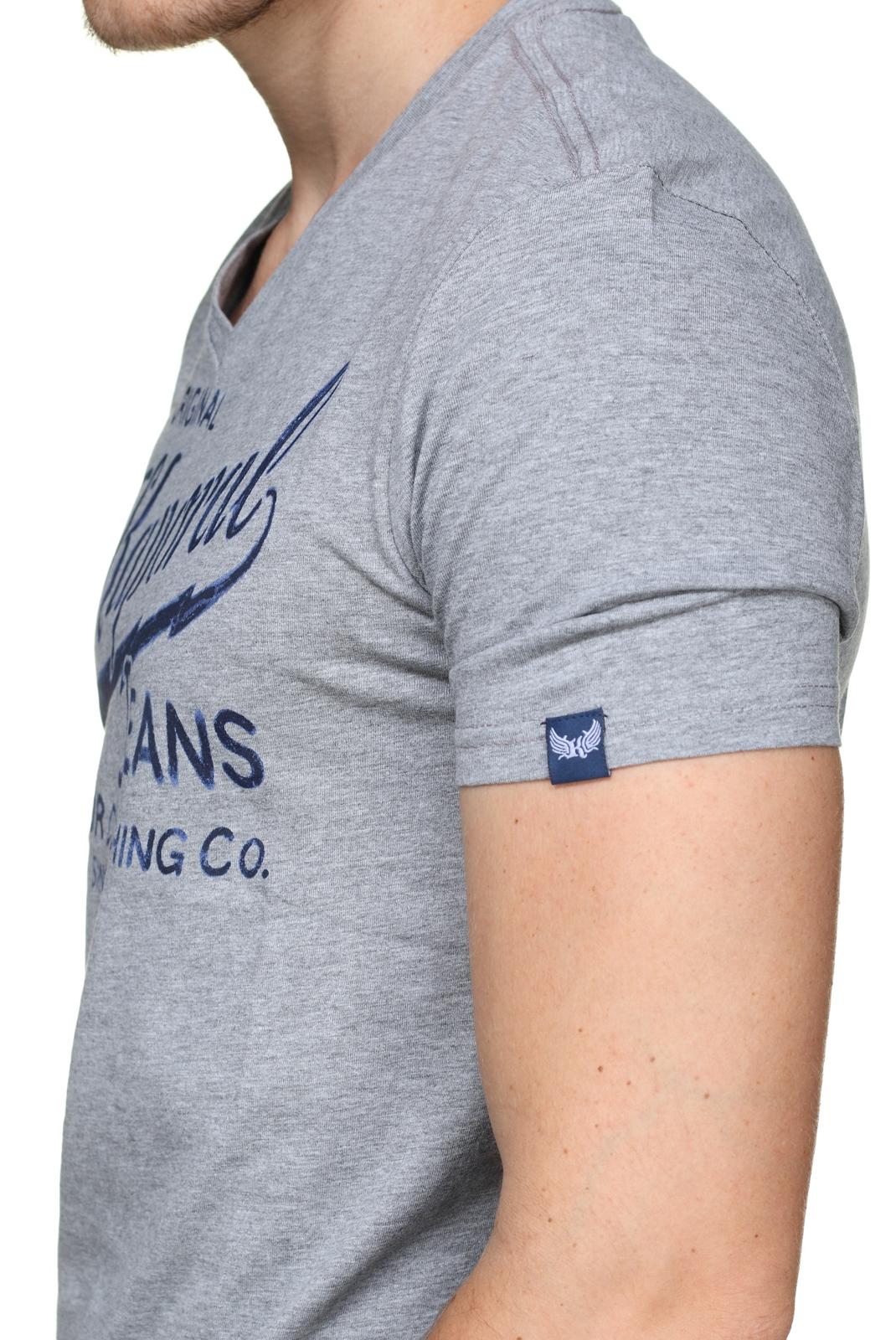 Tee-shirts  Kaporal BRUCE H18M11 MEDIUM GREY