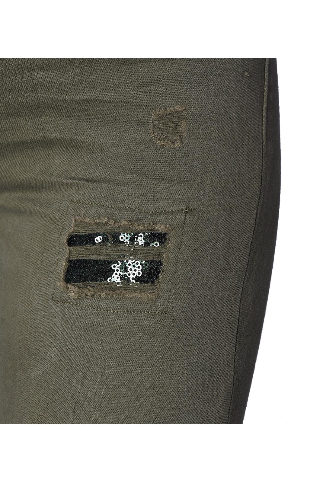 Jeans   Kaporal POWER H18W7 KAKI DESTROY