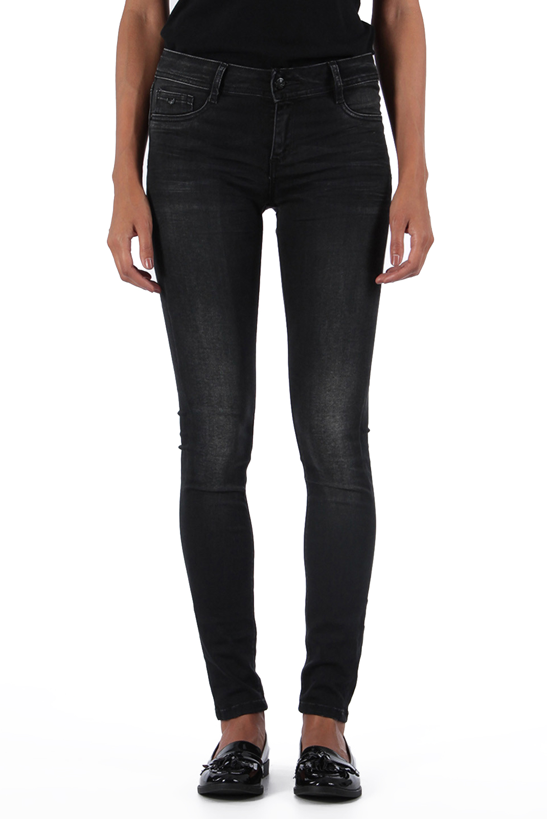 Jeans   Kaporal POWER H18W7 OLD BLACK