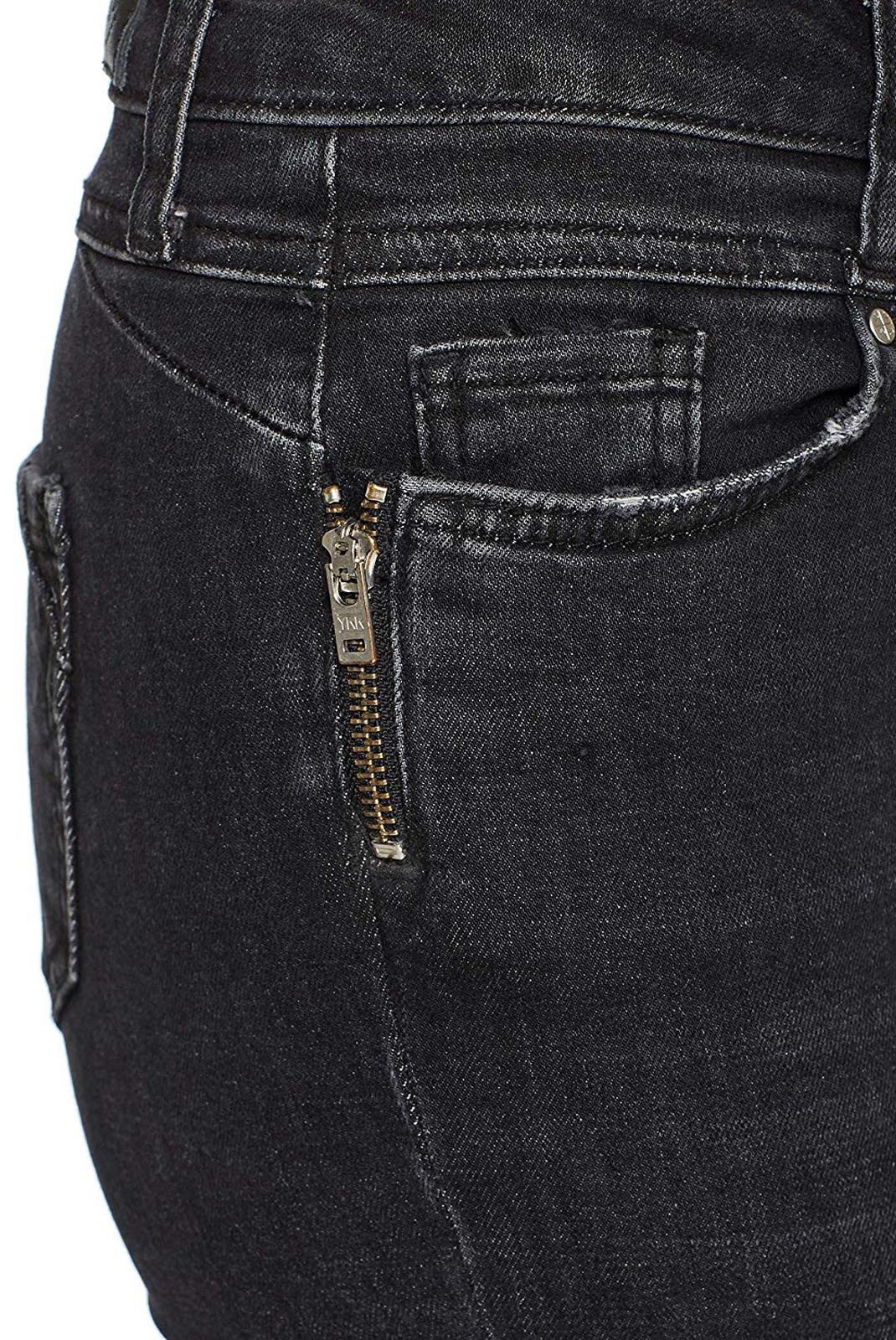 Jeans slim  Vero moda SEVEN MR SLIM ZIP JEAN BA105 NOOS Black