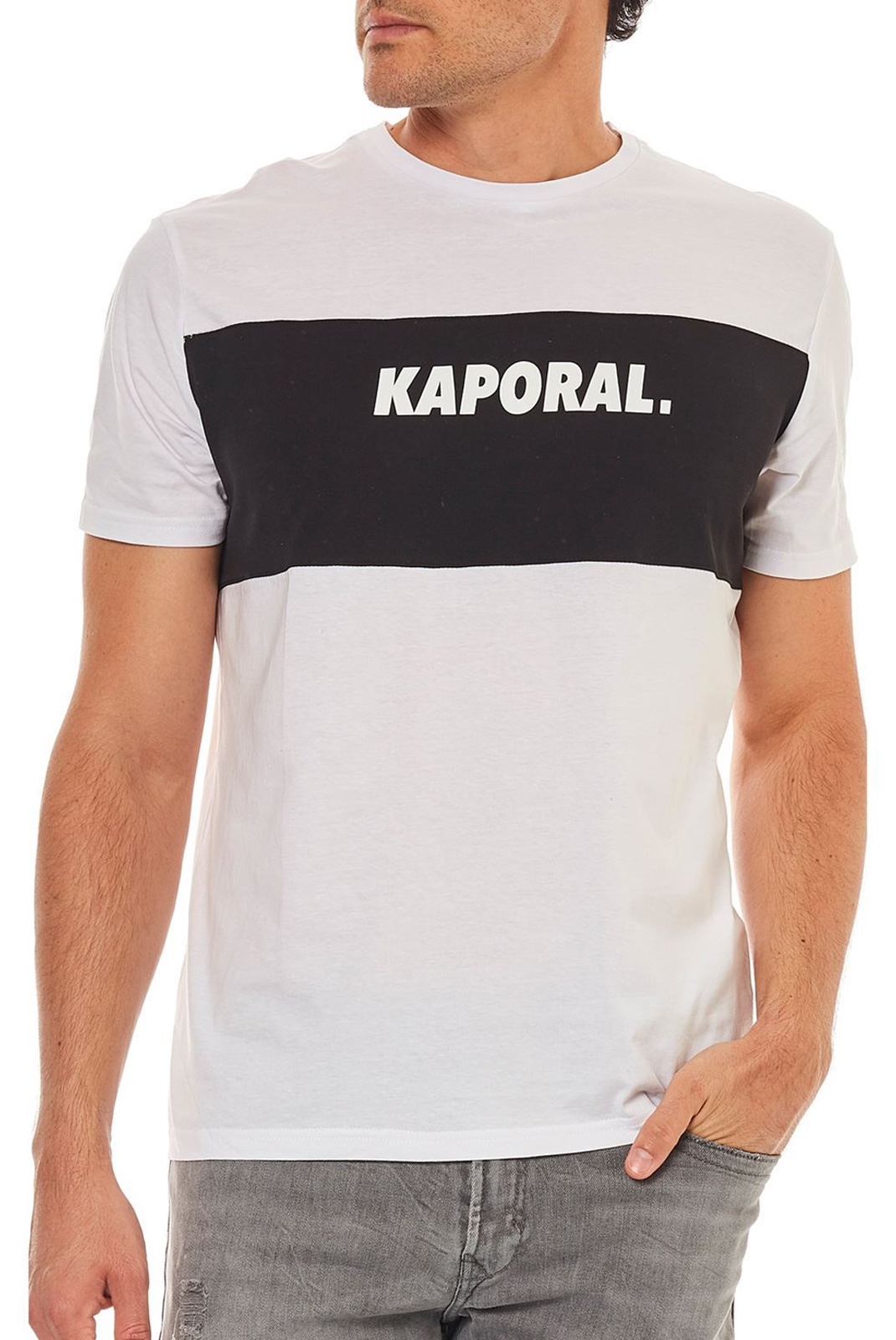 T-S manches courtes  Kaporal SYRUS WHITE