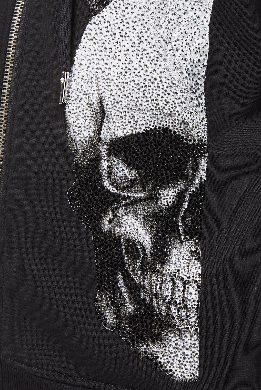 Vestes zippées  Philipp plein MJB0472 PJO002N 02 BLACK
