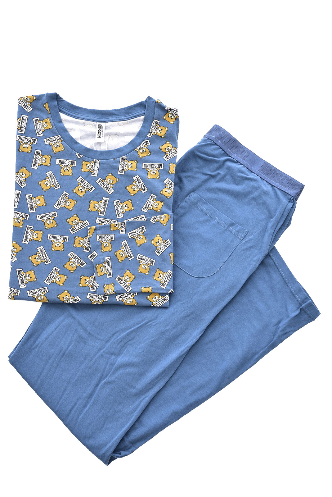 Pyjamas-Peignoirs  Moschino 1A5002 1288 BLEU