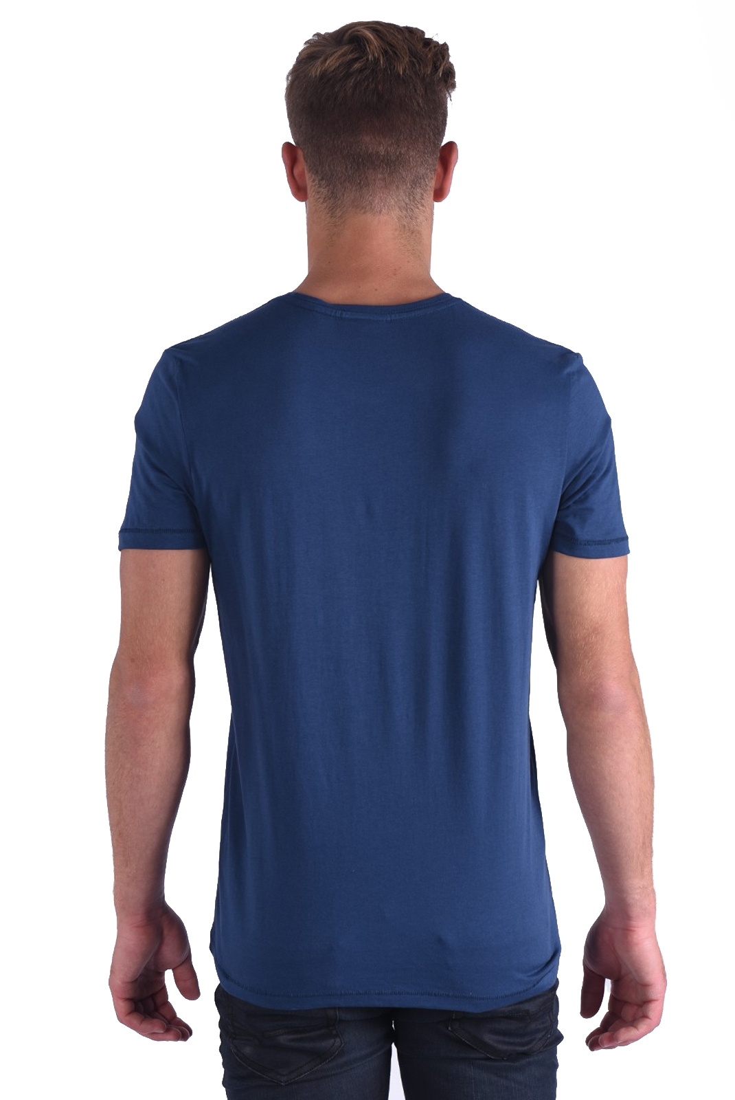 Tee-shirts  Kaporal BRISK BLUE US
