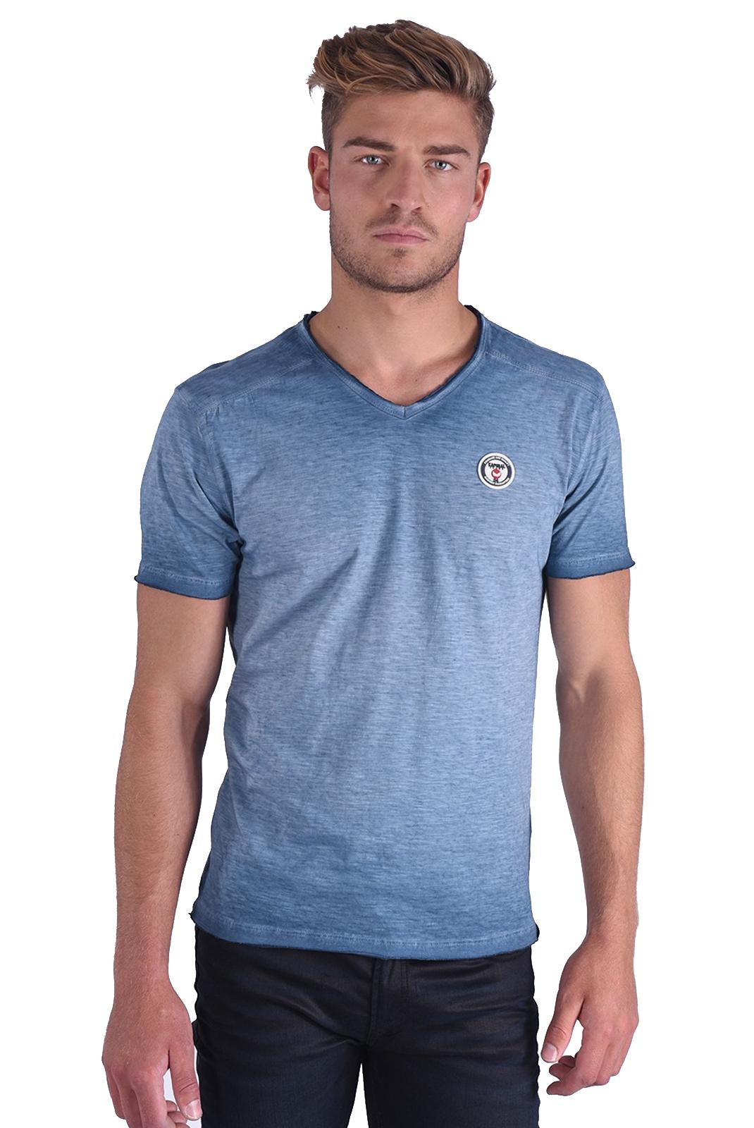 Tee-shirts  Kaporal BRUGE BLUE US
