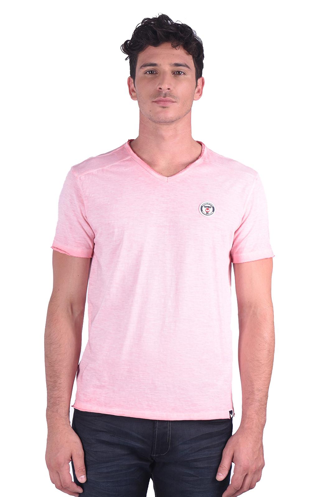 Tee-shirts  Kaporal BRUGE ROSE
