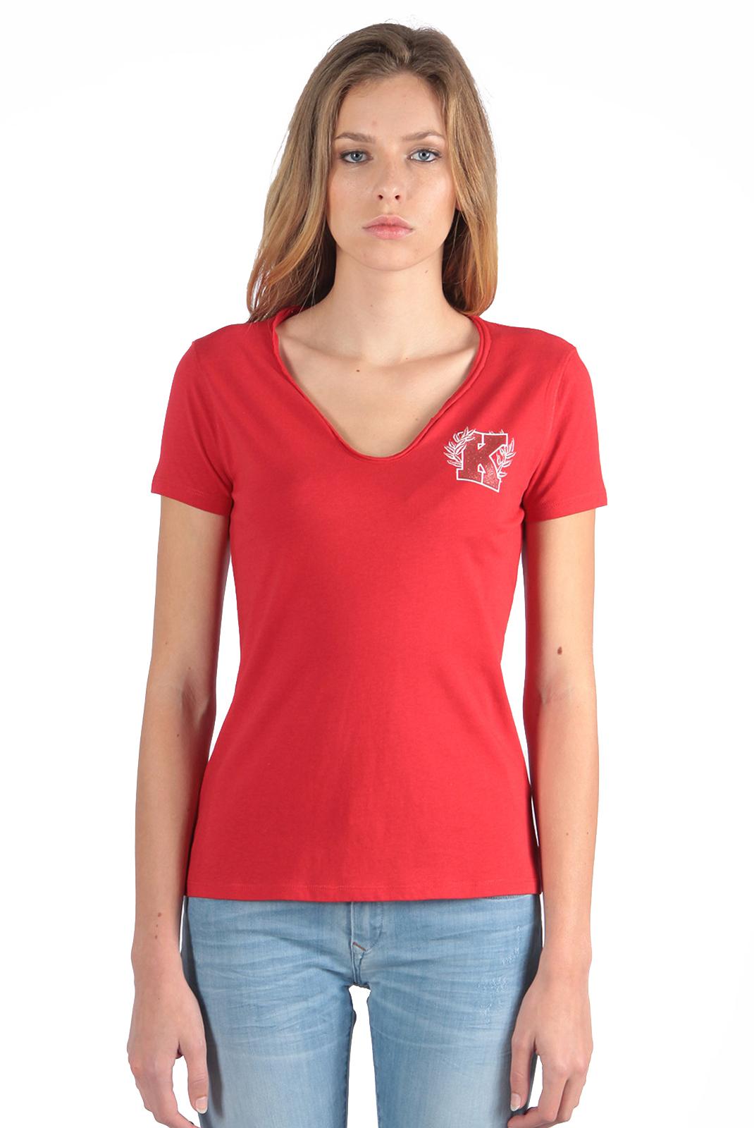 Tee shirt  Kaporal BULSE CHERRY