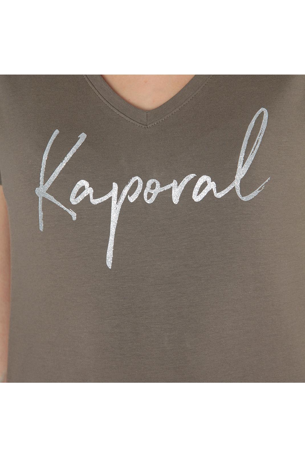 Tee shirt  Kaporal BUXOM TREILLIS