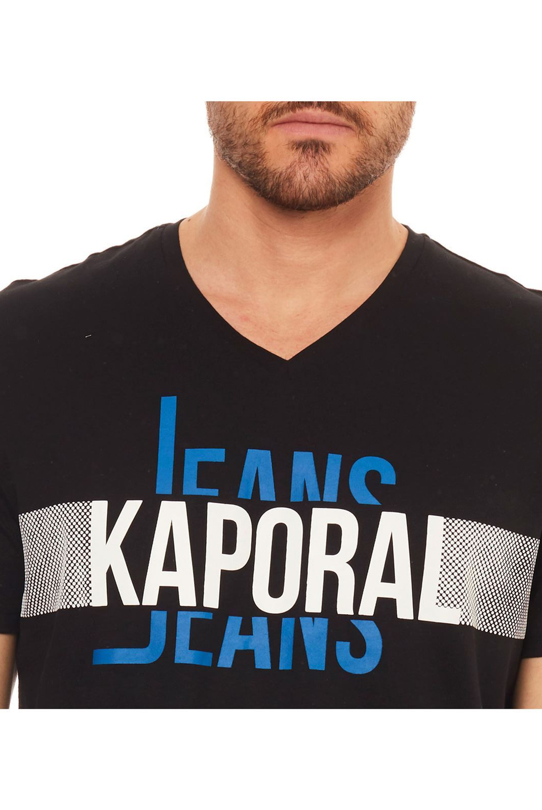 Tee-shirts  Kaporal DELMO BLACK