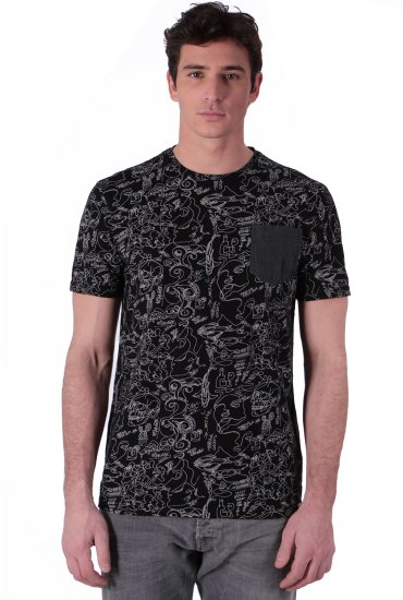 8d6a8a8f36f Tee-shirts HOMME Kaporal NISIM BLACK