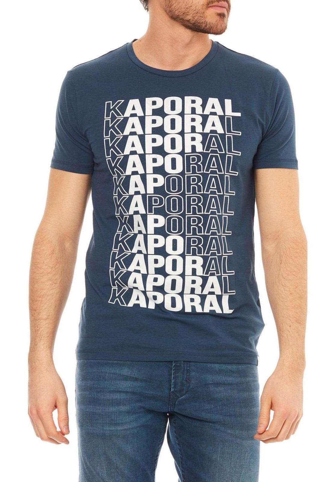 Tee-shirts  Kaporal MAVID BLUE US