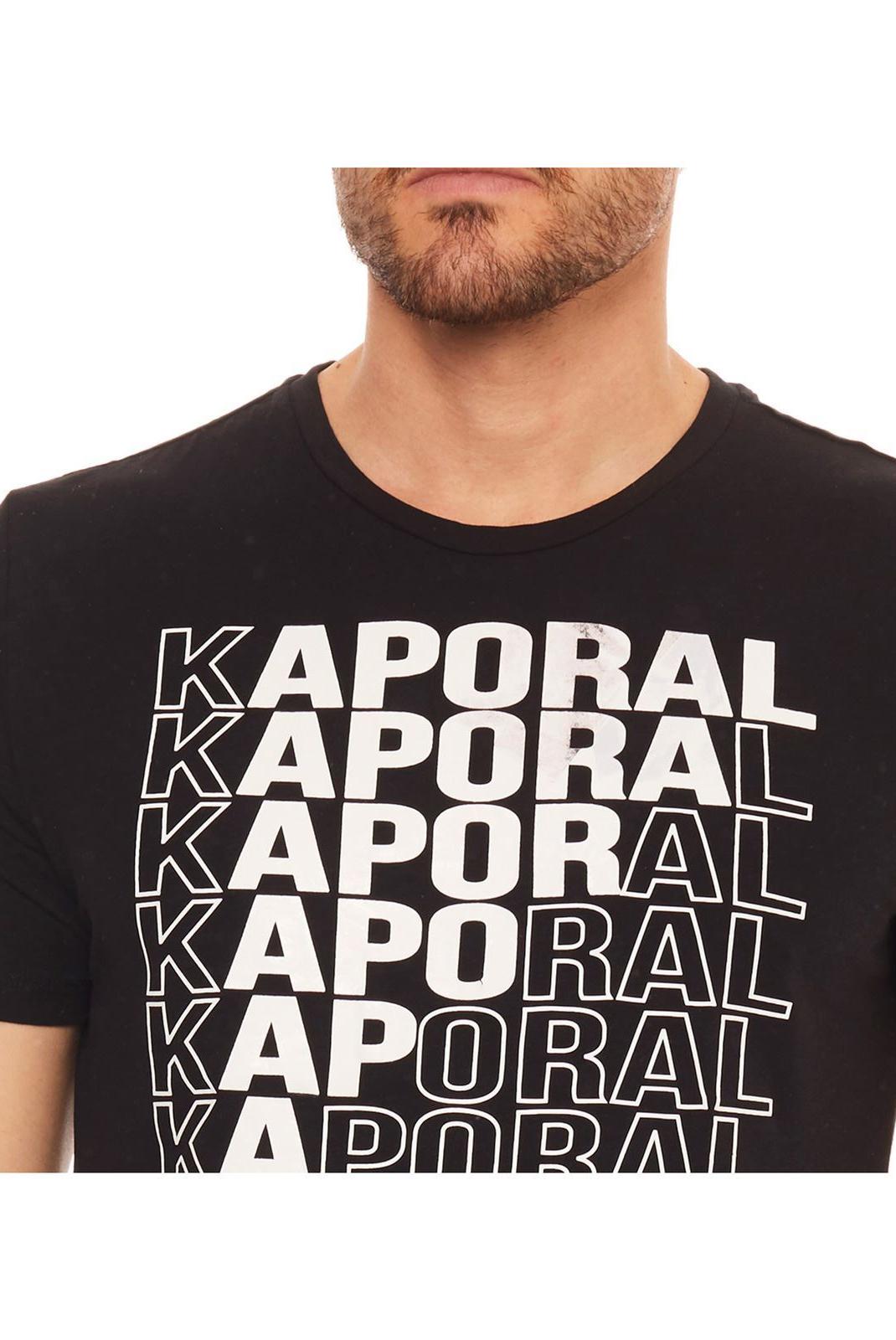 Tee-shirts  Kaporal MAVID BLACK
