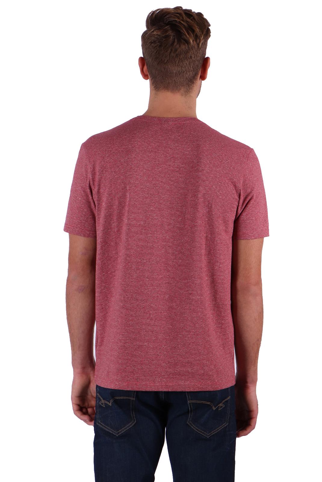 Tee-shirts  Kaporal MOLIA RED MELANGE